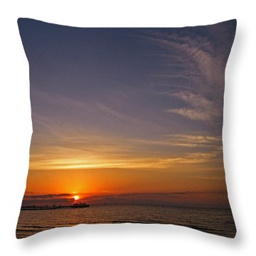 Throw Pillow featuring the photograph Good Morning by Brian Wright