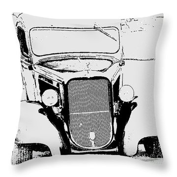 Throw Pillow featuring the photograph Good Ole Days by Greg Moores