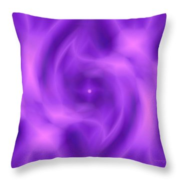 Got A Glow On Throw Pillow by Anastasia Pellerin