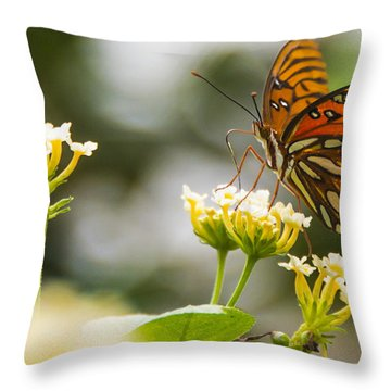 Got Pollen Throw Pillow