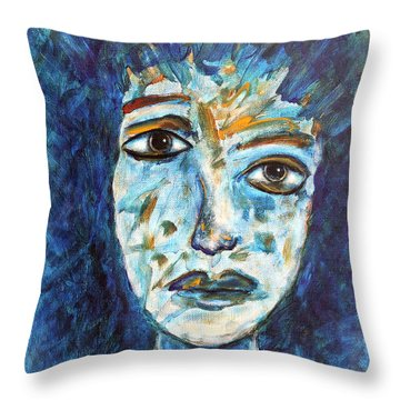 Got To Save The World Throw Pillow by Natalie Holland