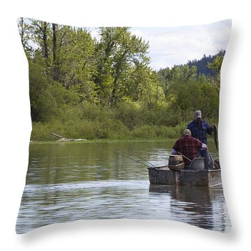 Throw Pillow featuring the photograph Gotcha by Nina Prommer