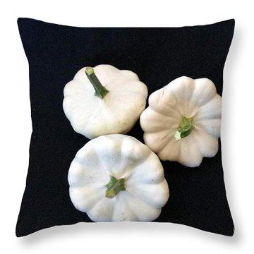 Throw Pillow featuring the photograph Gourds 10 by Deniece Platt