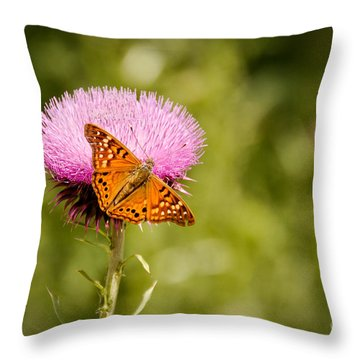 Gourmet Flower Throw Pillow