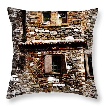 Grado 2 Throw Pillow by Mauro Celotti