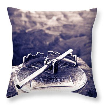 Grand Canyon - Sight Tube Throw Pillow by Scott Sawyer