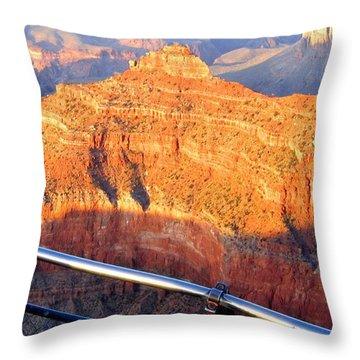 Grand Canyon 43 Throw Pillow by Will Borden