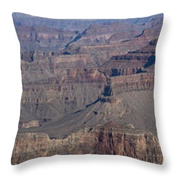 Grand Canyon From South Rim Throw Pillow by Tim Mulina