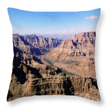 Throw Pillow featuring the photograph Grand Canyon by Lynn Bolt