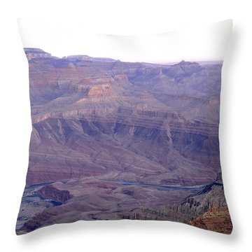 Grand Canyon Pastiche Throw Pillow