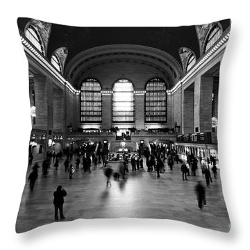 Grand Central Terminal Throw Pillow