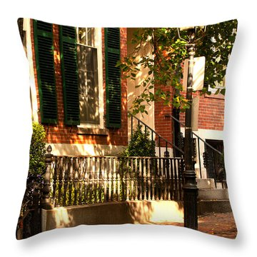 Grand Residence Throw Pillow
