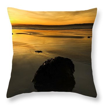 Grand Rock Throw Pillow by Svetlana Sewell
