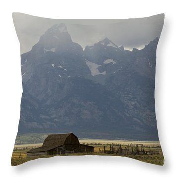 Grand Tetons Jackson Wyoming Throw Pillow