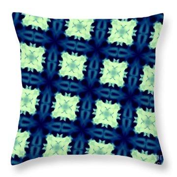 Grandma's Afghan Throw Pillow by Renee Trenholm