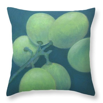 Grapes No. 15 Throw Pillow