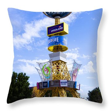 Grapevine Mills Mall Throw Pillow
