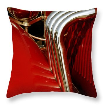 Great Pipes Throw Pillow by Vivian Christopher