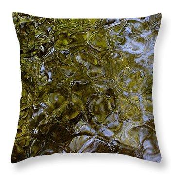 Green Dream Throw Pillow