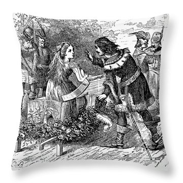 Grimm: Snow White Throw Pillow