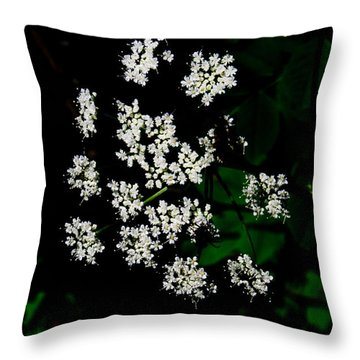 Ground-elder Throw Pillow