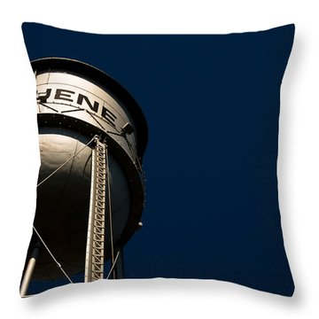 Gruene Water Tower Throw Pillow