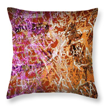 Grunge Background 3 Throw Pillow by Carlos Caetano