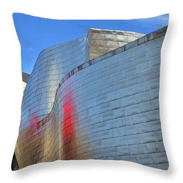 Guggenheim Museum Bilbao - 3 Throw Pillow