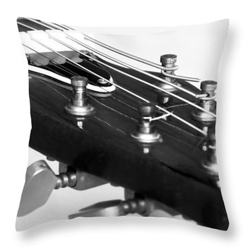 Guitar Throw Pillow by Svetlana Sewell