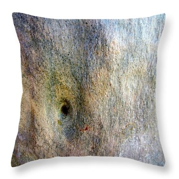 Throw Pillow featuring the photograph Gum Tree Bark Australia by Roberto Gagliardi