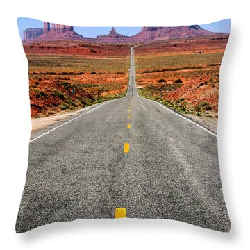 Gumproad Throw Pillow