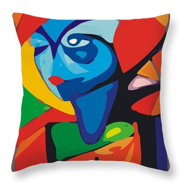 Gv032 Throw Pillow