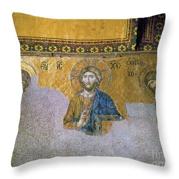 Hagia Sophia: Mosaic Throw Pillow by Granger