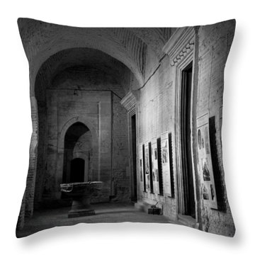 Hagia Sopia Throw Pillow by Lisa Parrish