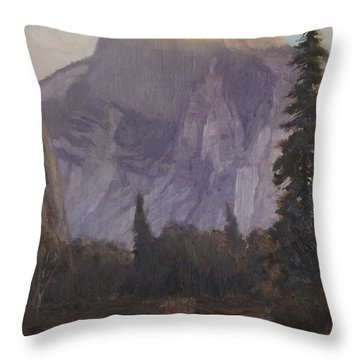 Half Dome Throw Pillow by Christian Jorgensen