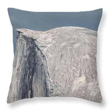 Half Dome From Glacier Point At Yosemite Np Throw Pillow