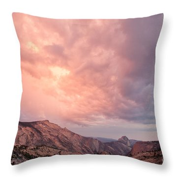 Half Dome From Olmsted Point Throw Pillow
