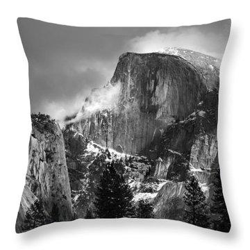 Half Dome Throw Pillow by Jeff Grabert