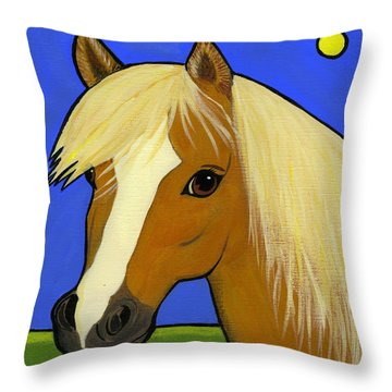 Halfinger Throw Pillow