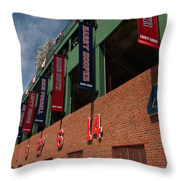 Hall Of Famers Throw Pillow by Paul Mangold
