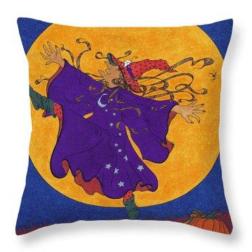 Halloween Dance Throw Pillow