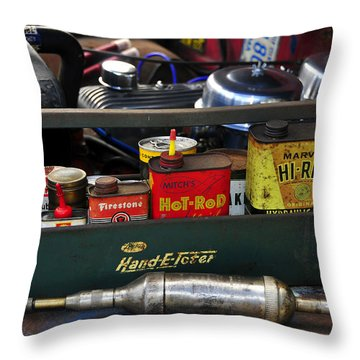 Hand E Toter Throw Pillow by David Lee Thompson