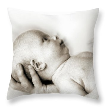 Hand Of Love  Throw Pillow