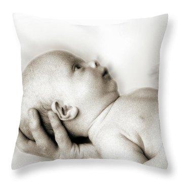 Hand Of Love  Throw Pillow