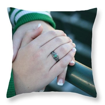 Throw Pillow featuring the photograph Hands Of Time by Michael Waters