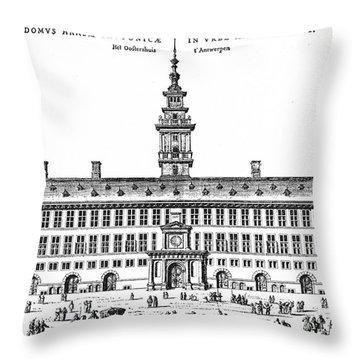 Hanseatic League, 1563 Throw Pillow by Granger