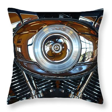 Harley39 Throw Pillow by Newel Hunter