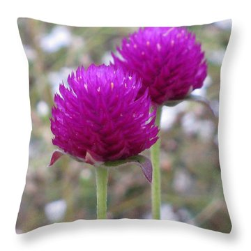 Harmony Throw Pillow by Tina Marie