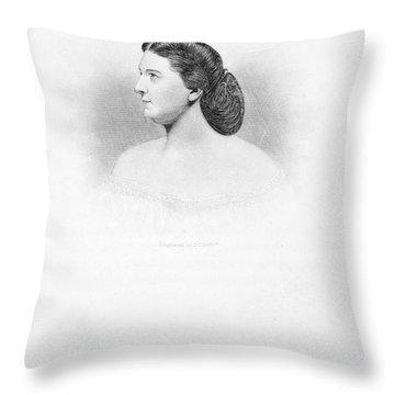 Harriet Lane Johnston Throw Pillow by Granger