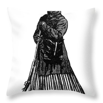 Harriet Tubman (c1823-1913) Throw Pillow by Granger